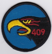 RCAF Patch Sqn Royal Canadian Air Force 409 AWF Squadron F 101 d