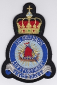 RNoAF Patch Royal Norwegian Air Force 330 Skv Squadron Sea King