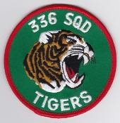 RNoAF Patch Royal Norwegian Air Force 336 Skv F 5 NATO Tiger a2