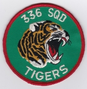 RNoAF Patch Royal Norwegian Air Force 336 Skv F 5 NATO Tiger a1