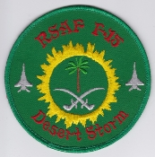 RSAF Patch da Sqn Royal Saudi Air Force 6 Squadron F 15C Eagle d