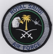 RSAF Patch da Sqn Royal Saudi Air Force 6 Squadron F 15C Eagle e