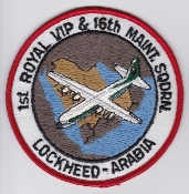 RSAF Patch da Sqn Royal Saudi Air Force 1 & 16 Sqn C 130 Maint