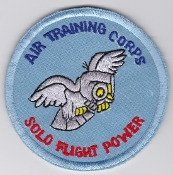 RAAF Patch Y Air Training Corps Cadets AIRTC Pilot Solo EB