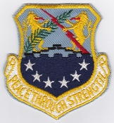 USAF Patch Recon S 100 SRW Strategic Reconnaissance Wing a