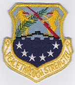 USAF Patch Recon S 100 SRW Strategic Reconnaissance Wing b