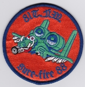 USAF Patch Fighter USAFE 81 TFW Tactical Ftr Wing g A 10 j 88 b