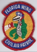 USAF CAP Wg Patch US Civil Air Patrol Florida Wing EB