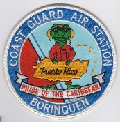 USCG Aviation Patch United States Coast Guard Stn Borinquen EB