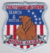 USCG Aviation Patch United States Coast Guard Stn Kodiak SAR EB