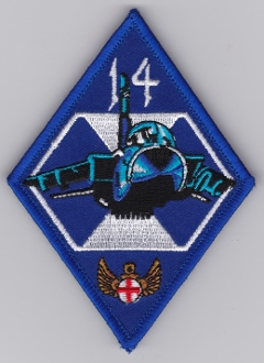 RAF Patch 14 Squadron Royal Air Force Tornado Strike c EB