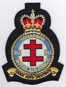 RAF Patch b 41 Squadron Royal Air Force Crest Test Evaluation EB