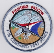 USAF Patch Test F 16 AFFTC CTF Combined Test Force