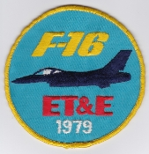 USAF Patch Test F 16 6510 Test Wing ETE European Test Evaluation