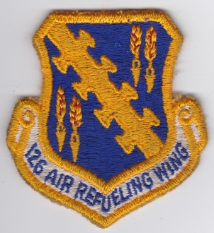 USAF Patch ANG 126 ARW Air Refueling Wing KC 97 EB