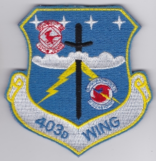 USAF Patch Reserve Mobility 403 W Wing Airlift C 130 Hercules EB