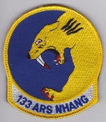 USAF Patch ANG Refueling 133 ARS Air Ref Squadron KC 135 b EB