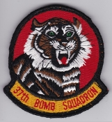 USAF Patch Bomb 37 BS Squadron B 1B Lancer a EB