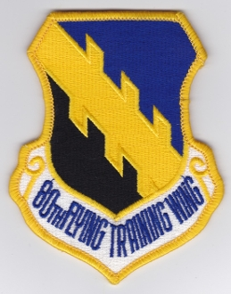 USAF Patch Tng Foreign 80 FTW Flying Training Wing Euro NATO EB