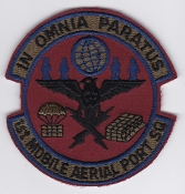 USAF Patch Airlift 1 MAPS Mobile Aerial Port Squadron Dyess EB