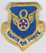 USAF Patch Bomb SAC 8 Eighth Air Force Shield 2a B 52 KC 135 Min