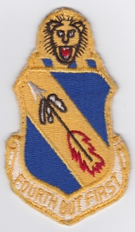 USAF Patch Fighter 4 TFW Tactical Ftr Wing F 105 Thunderchief