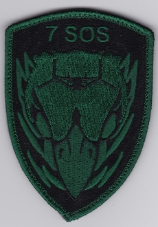 USAF Patch Spec Ops USAFE 7 SOS Special Operations Sq p CV 22 ta