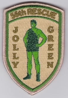 USAF Patch Rescue USAFE 56 RQS Rescue Squadron Jolly Green e