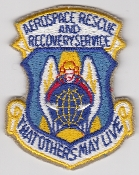 USAF Patch Rescue ARRS Aerospace Recovery Service CSAR b