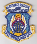 USAF Patch Rescue ARRS Aerospace Recovery Service CSAR d