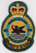 RCAF Patch Sqn Royal Canadian Air Force 880 Squadron Maritime b