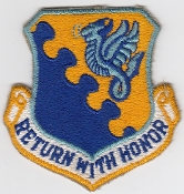 USAF Patch Fighter 31 TFW Tactical Ftr Wing F 4 Phantom II a
