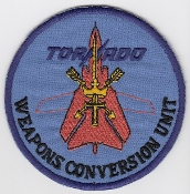 RAF Patch 45 Squadron Royal Air Force TWCU Tornado Weapons a