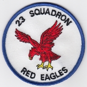 RAF Patch 23 Squadron Royal Air Force Tornado F 3 AD Air Crew