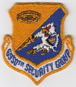 USAF Patch Intel USAFE 6950 Security Gp RAF Chicksands SIGINT a