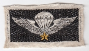 US Army Patch Vietnam Advisors South Vietnam ARVN Parachute Wing