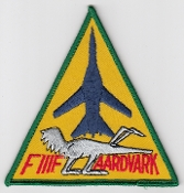 USAF Patch Fighter USAFE 48 TFW Tactical Ftr Wing F111 f a
