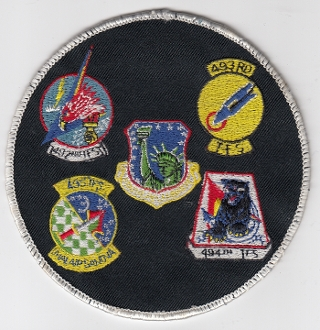 USAF Patch Fighter USAFE 48 TFW Tactical Ftr Wing F111 h Gaggle