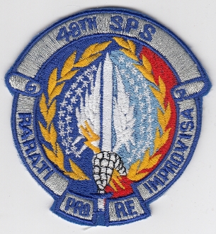 USAF Patch Fighter USAFE 48 TFW Tactical Ftr Wing F111 s SPS a
