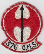 USAF Patch Recon S 376 SW Strategic Wing OMS Recon SR 71 U 2