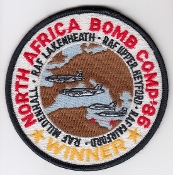 USAF Patch Fighter USAFE 48 TFW Tactical Ftr Wing F111 o Libya h