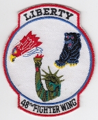 USAF Patch Fighter USAFE 48 u FW Ftr Wing F 15E Sqn Gaggle a