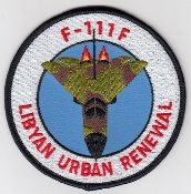USAF Patch Fighter USAFE 48 TFW Tactical Ftr Wing F111 o Libya l