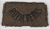British Army Patch Shoulder Title Inf Royal Berkshire Slipon