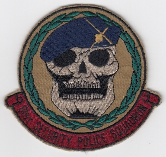 USAF Patch Fighter USAFE 81 TFW Tactical Ftr Wing g A 10 SPS a4a