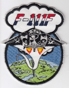 USAF Patch Fighter USAFE 48 TFW Tactical Ftr Wing F111 f b