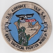 USAF Patch Fighter USAFE 48 TFW Tactical Ftr Wing F111 p Iraq a