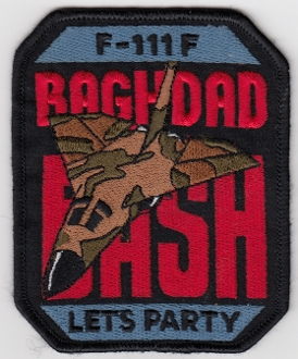USAF Patch Fighter USAFE 48 TFW Tactical Ftr Wing F111 p Iraq f