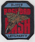 USAF Patch Fighter USAFE 48 TFW Tactical Ftr Wing F111 p Iraq g