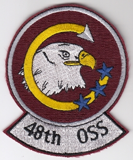 USAF Patch Fighter USAFE 48 u FW Ftr Wing s F 15 OSS Squadron a